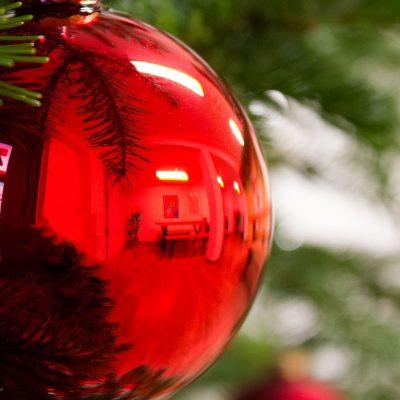 Weihnachtskugel im Treffpunkt Auszeit