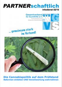 Cover des Partnerschaftlich-Magazins, Ausgabe 2/16