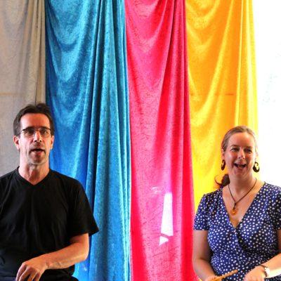 Josef Stier und Tina Stier (Mobiles Theater Odenwald)
