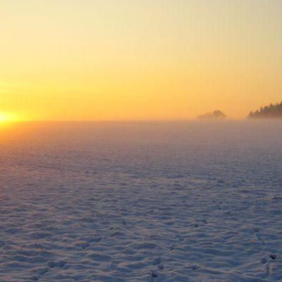 Geopark Odenwald im Winter; Foto: Matthias Lothhammer, CC-Lizenz