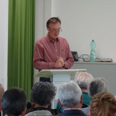Mathias Haase von der Ambulanten Suchthilfe des Diakonischen Werkes Hanau